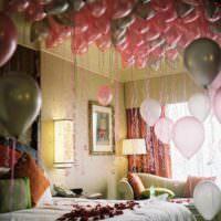 Декорирование детской воздушными шарами