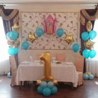 Оформляем комнату ко дню рождения малыша своими руками