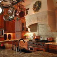 Вытяжка в дизайне интерьера кухни