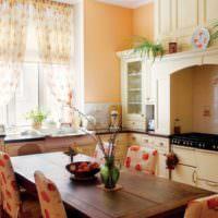 Фальш-камин над кухонной плитой своими руками