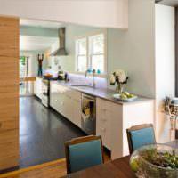 Оформление интерьера кухни своими руками