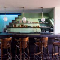 Кухня в стиле модерн своими руками