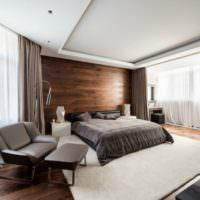 Дизайн спальни загородного лома