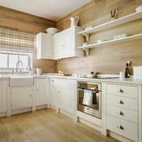Интерьер кухни частного дома