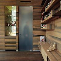 Ламинат в интерьере современной жилой комнаты