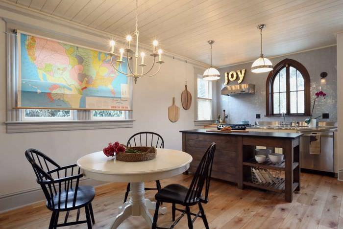 Оформление кухонного пространства своими руками