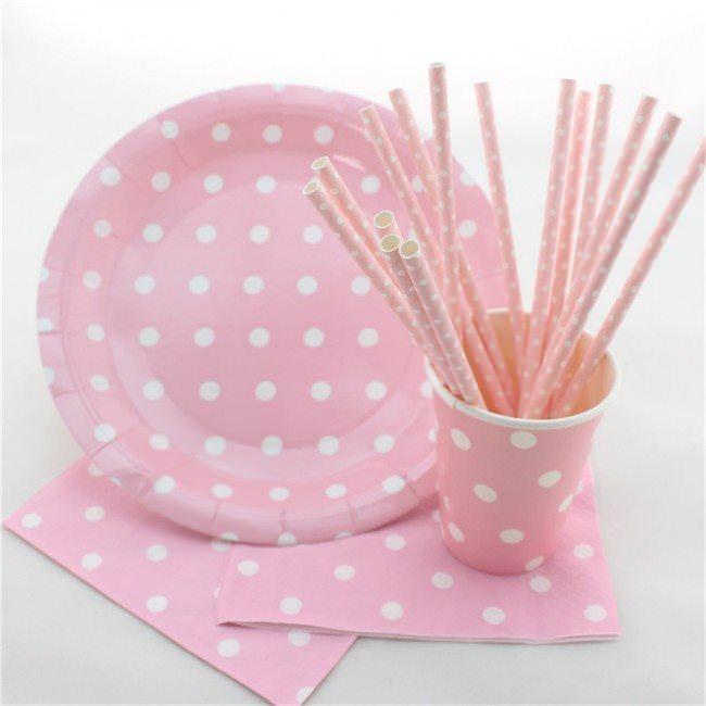 Детская одноразовая посуда с принтами для дня рождения ребенка