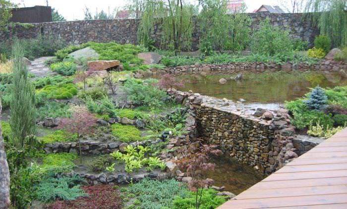 Дикий склон в ландшафтном дизайне садового участка