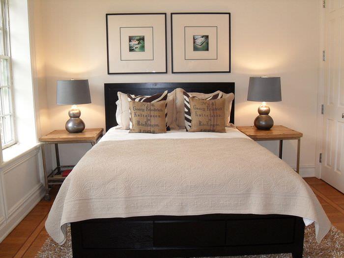 Дизайн маленькой спальни в стиле минимализма
