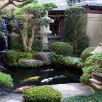 Уголок японского сада на дачном участке