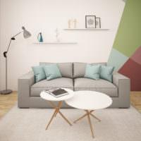Стиль минимализма в интерьере однокомнатной квартиры