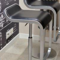 Дизайнерские стулья на кухне в современном стиле