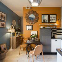 Картины в интерьере однокомнатной квартиры