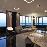 Стильное освещение современной квартиры