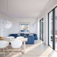 Природное освещение в дизайне квартиры