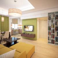 Современное освещение в интерьере квартиры