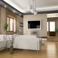 Все оттенки серого в дизайне одного помещения