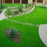 Садовые дорожки в ландшафте сада