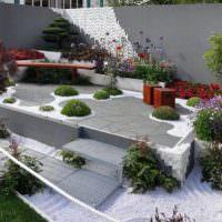 Дизайн садового участка в стиле модерн