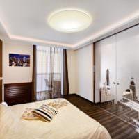 Яркий свет в однокомнатной квартире