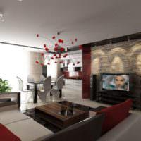 Телевизор в роли центра современной гостиной