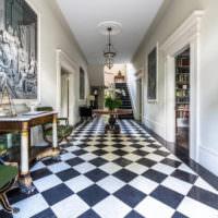 Дизайн коридора во французском неоклассицизме