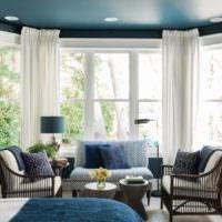 Дизайн спальни с альковом в частном доме