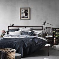 Дизайн спальни в стиле ретро