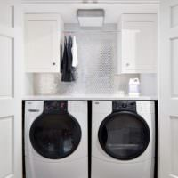 Ниши для стиральных машин в ванной