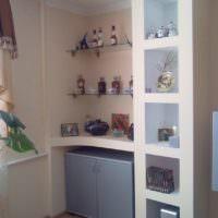 Ниши вместо кухонного шкафа в квартире