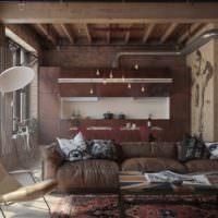 Стиль лофт в оформлении дома для мужчины