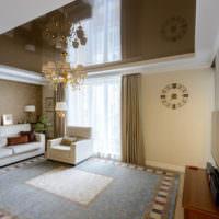 Зонирование комнаты с помощью обоев