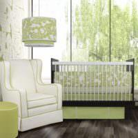 Использование оливковых оттенков в оформлении интерьера жилой комнаты