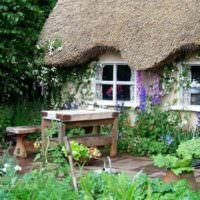 Жилой дом в деревенском стиле