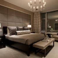 Освещение спальни городской квартиры