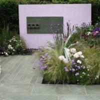 Дизайн современного садового участка