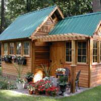 Гостевой домик на загородном участке