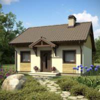 Дизайн небольшого садового домика