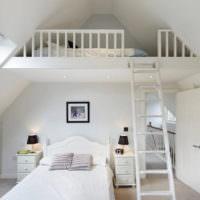 Детская спальня в мансарде своими руками