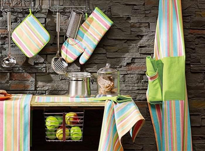 Декор пространства кухни текстилем своими руками