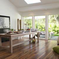 Линолеум пол натуральное дерево на полу гостиной