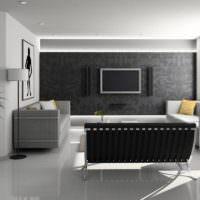 Модный интерьер в черных оттенках