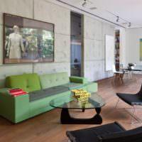 Оттенки зеленого цвета в современном интерьере