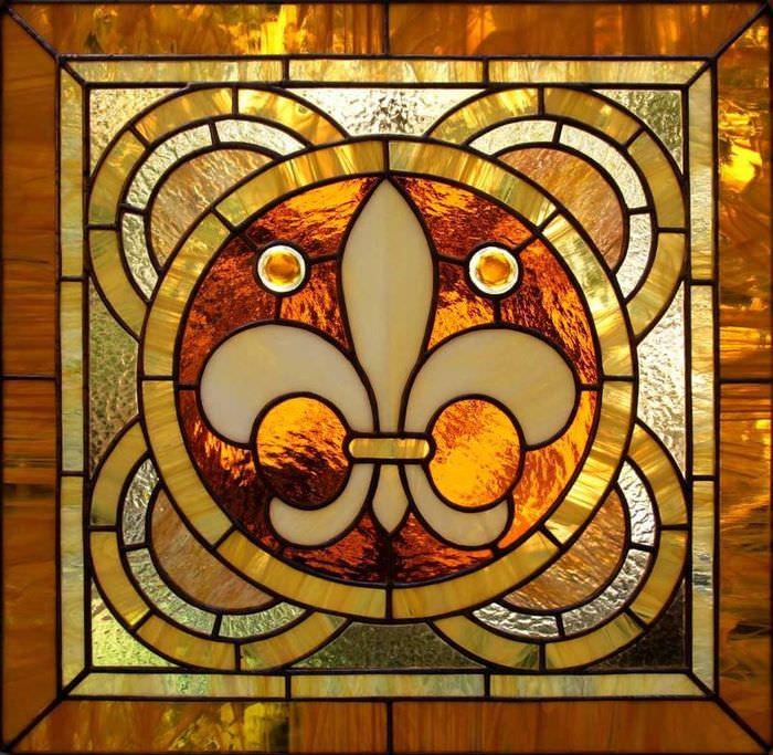 Фото мозаичной композиции в стиле готики