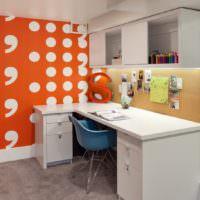 Буквы в интерьере комнаты для подростка