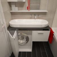 Компактная сантехника в совмещенной ванной
