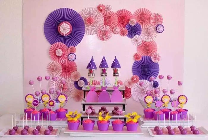 Декорирование сладких блюд на день рождения ребенка
