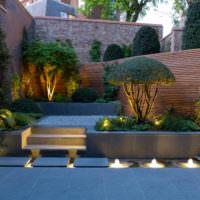Ночная подсветка садовых дорожек