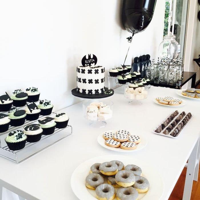 Сервировка сладкого стола на день рождения ребенка