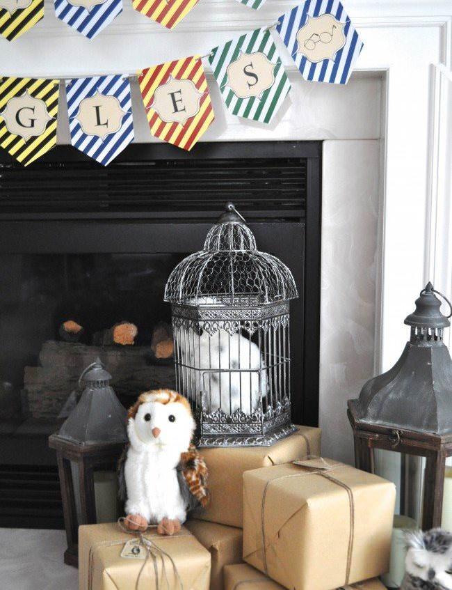 Оформление детского дня рождения в стиле Гарри Поттера